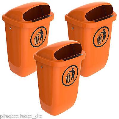 50 Liter SULO grün Mülltonne Mülleimer Abfalleimer Abfallbox Abfallkiste Eimer