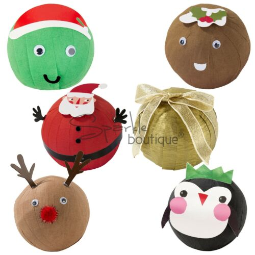 Talking Tables Wonderballs - Novelty Xmas / Party Game - Like Pass The Parcel