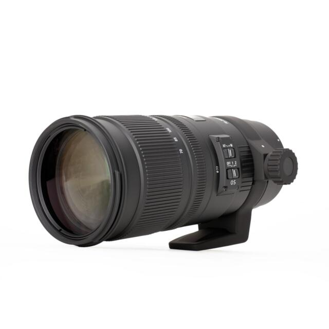 Sigma 70-200 mm f2.8 APO EX DG OS HSM hochwertiges Zoomobjektiv für Nikon FX
