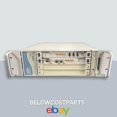 Agilent E8408a Vxi Mainframe Vector Signal Analyzer System 280va With 2 Modules