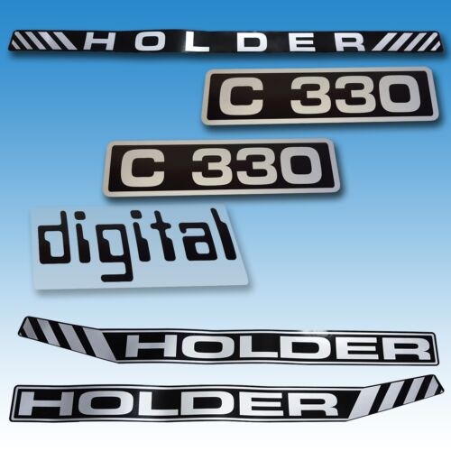 Aufkleber-Satz Aufklebersatz Aufkleber Holder C 330 Digital Traktor Schlepper  Foto 1