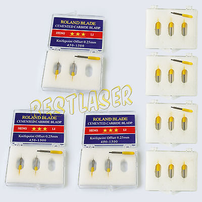 Hot 12 Pcs Roland Cutting Blade 30 For Cutting Plotter Vinyl Cutter Low Cost