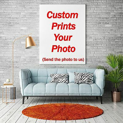 - Custom Poster Any Size Art Fabric Print Canvas Silk Home Bar Office Wall Decor