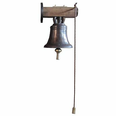 Glocke Bronze Hausglocke Gartenglocke Landhausglocke  23 cm bell bronze