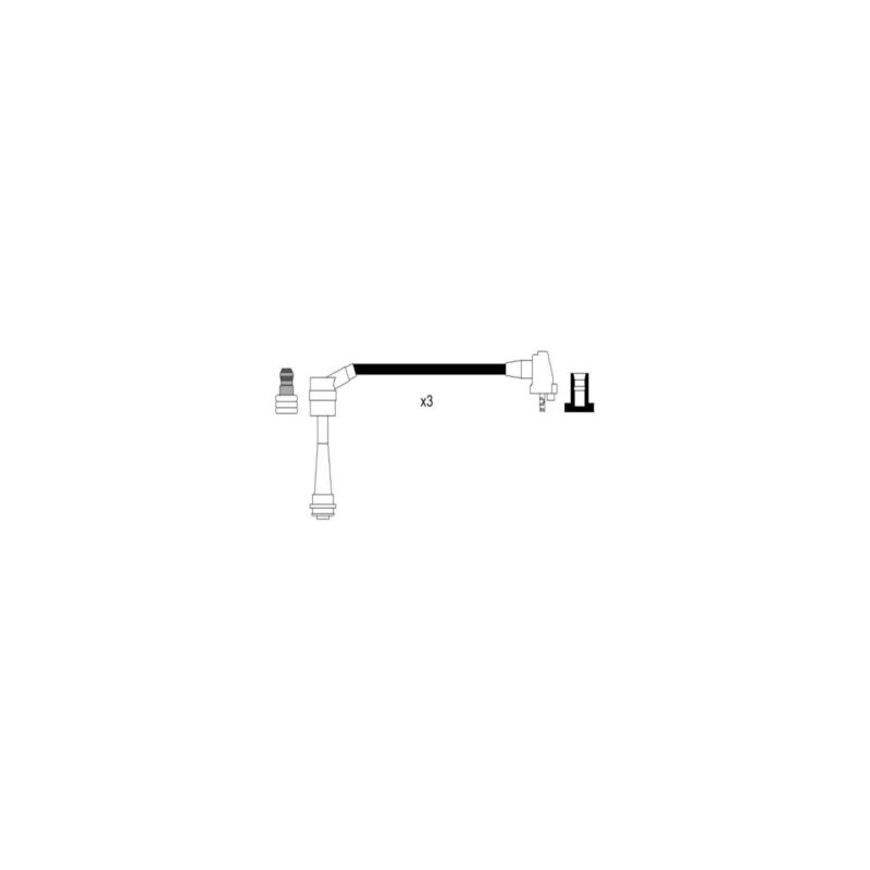 Lexus GS 300 T3 Genuine Cambiare Ignition Cable HT Lead Kit