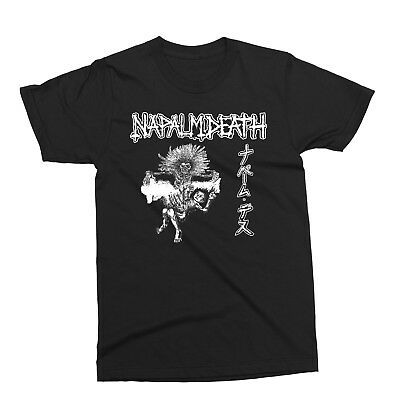 NAPALM DEATH-Split T-shirt,metal,carcass,death,deicide,slayer,nasum,sepultura