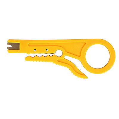 New HT-318 Hand Cable Stripper for UTP//STP Telecom Wire Stripping Cable Tool