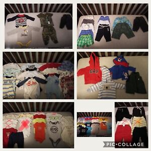 Baby boy clothes NB/0-3/3/3-6months