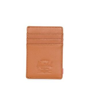 674cd7a5152 Herschel Supply Co. Men s Raven Leather Card Holder Wallet With ...