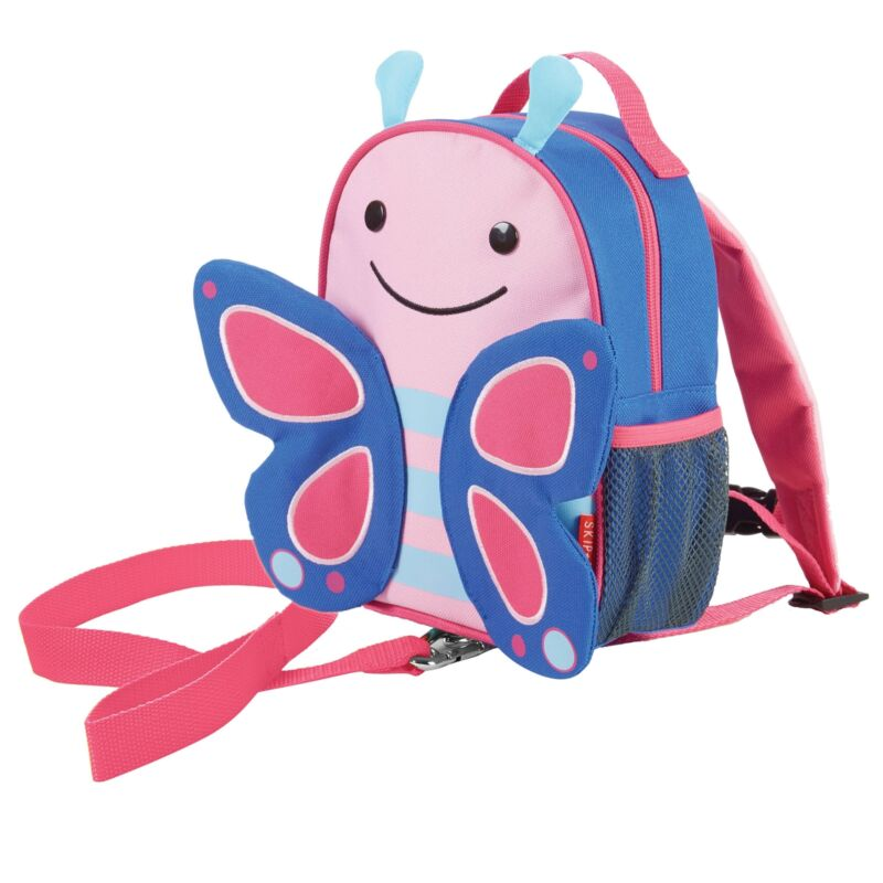 Skip+Hop+Zoo-let+Toddler+%2F+Child+Backpack+%2F+Daysack+Bag+With+Reins+-+Butterfly