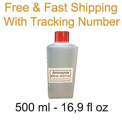 Ammonia 500 Ml 169 Fl Oz Ammonium Hydroxide In Solution 25 Free Fast Shipping