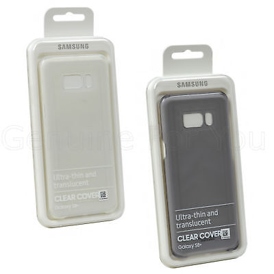 Genuine Samsung Clear Cover Ultra thin and translucent  Case For Galaxy S8 Plus  (Translucent Clear Case Cover)