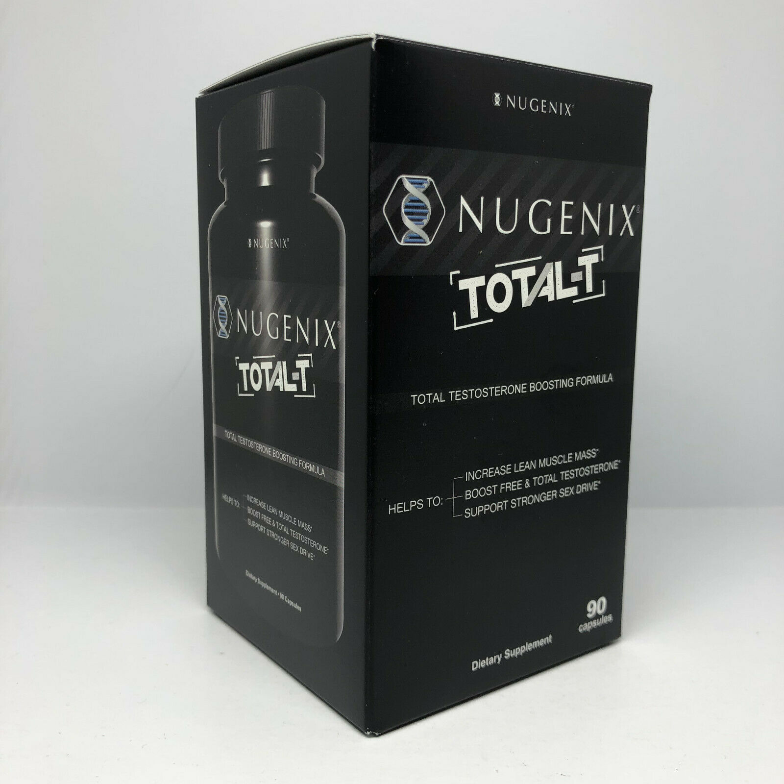 Nugenix total T  90 Capsules  Free Ship