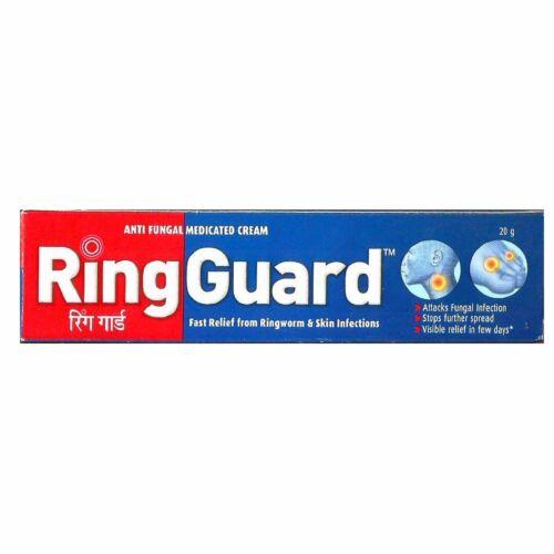 Ring Guard (20gm) Jock Itch Anti-Fungal Cream Ringworm Relief x1