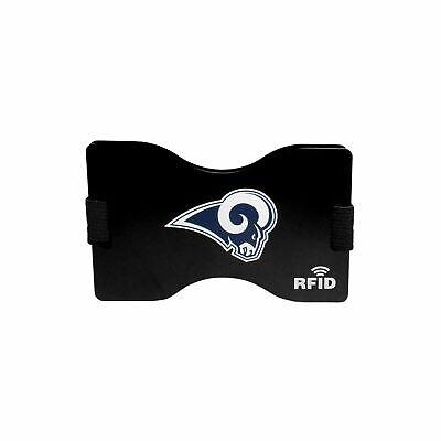 Football Los Angeles LA Rams RFID Blocking Wallet Minimalist Wallet Money Clip