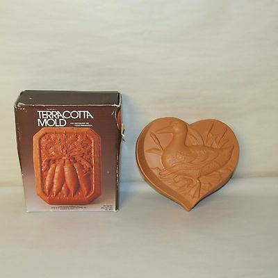 VINTAGE TERRACOTTA MOLD BY ACTION INDUSTRIES DUCK MOLD MADE IN JAPAN NEW