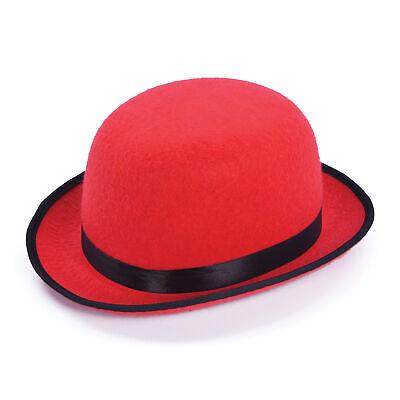 Klassischer Stil Vintage Damen Vogue Damen Herren Melone Derby Kostüm Hut