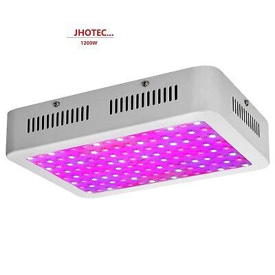 1200W LED Grow Light Hydro Full Spectrum Vegs Flower Indoor Plant Lamp Panel 2 C