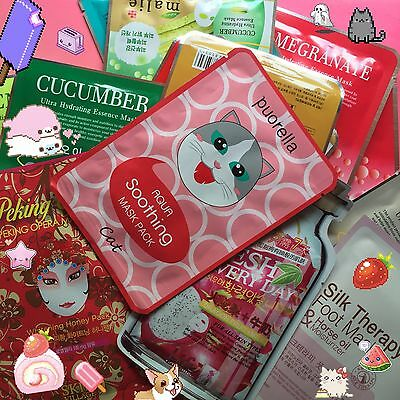 Kawaii Care Package ~Korean Japanese Beauty, Makeup, Candy, Stickers, Stationery