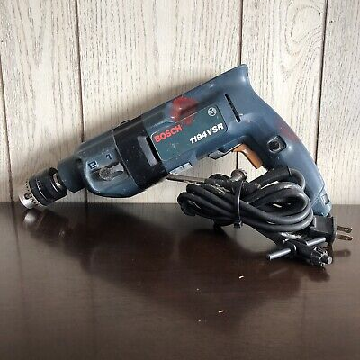 Bosch 1194vsr 12 Inch Variable Speed Corded Electric Hammer Drill W Key Chuck