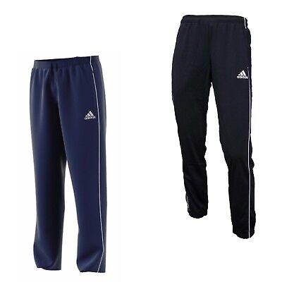 adidas Jogginghose Herren lang Sport Trainings Hose Fußball Männer schwarz blau Fußball Hose Schwarz