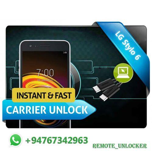 Remote Unlock Service LG Stylo 6 T-Mobile MetroPCS AT@T Cricket Sprint Boost