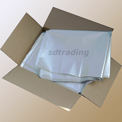 50 Clear Bin Liners Bags Refuse Sacks Heavy Duty Home Kitchen British Made