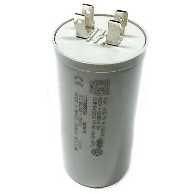 2x 5uF 400Vac Motor Run Capacitor 400V AC 5mfd 400 Volts Wire Leads