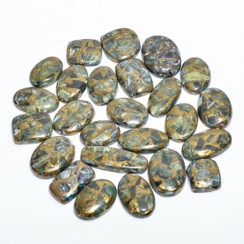 Top Natural Copper Serpentine Coffins Wholesale Lot Cabochon Loose Gemstone