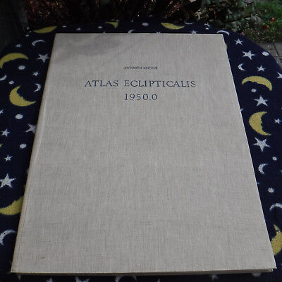 Scarce Antonin Becvar Folio Atlas Eclipticalis  Star Charts