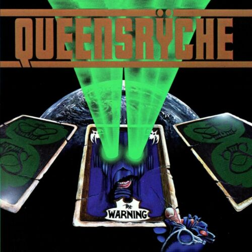 QUEENSRYCHE The Warning BANNER HUGE 4X4 Ft Fabric Poster Flag Tapestry art