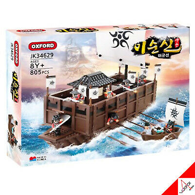 Oxford 2021 Admiral Yi Sun-Sin Japanese Military Ship Brick Block Assembly Kit