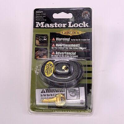 Master Lock Gun Lock, Keyed Trigger Lock, 90DSPT