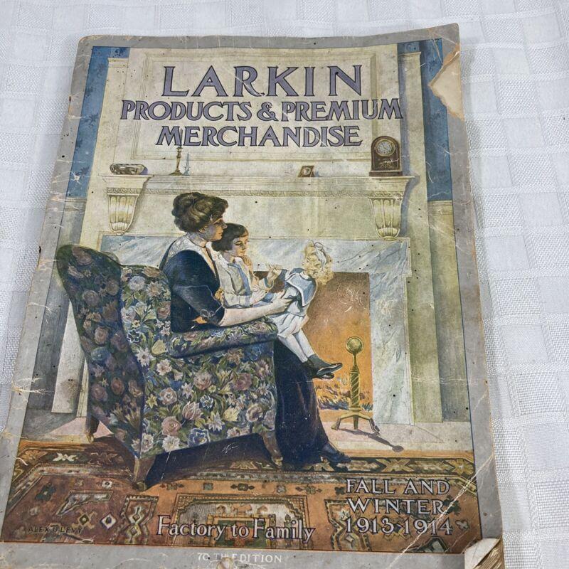 Larkin Products & Premium Merchandise Calalog Fall Winter 1913 1914