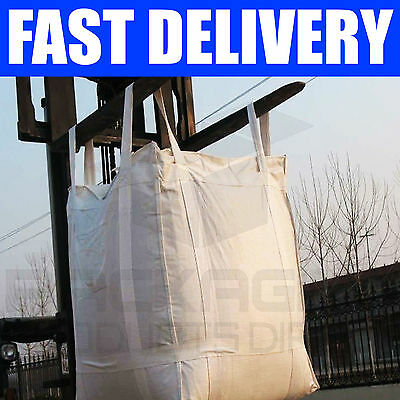1 Ton  Bulk Bag x 25 Builders Rubble Sack FIBC  Tonne  Jumbo Waste Storage Bag