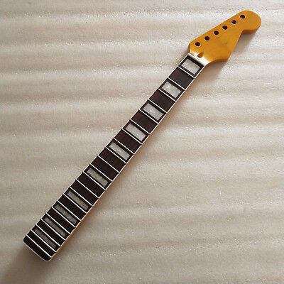 Best 24 Inch Strat Electric guitar Neck Replacement 22 Fret Rosewood Fretboard