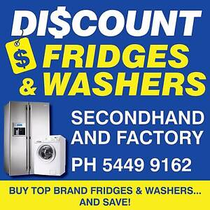 HUGE RANGE FRIDGES FREEZERS WASHING MACHINES DRYERS WARRANTY $180 Noosaville Noosa Area Preview