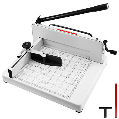 New Heavy Duty Guillotine Paper Cutter 17 Commercial Metal-base A3 Trimmer