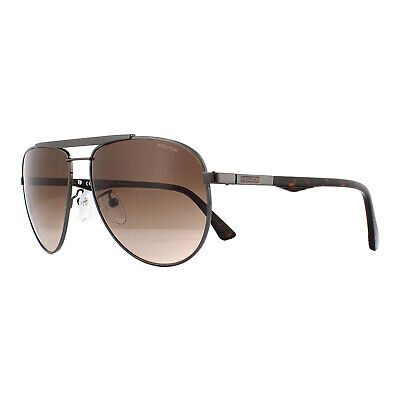 Police Sunglasses SPL364 Brooklyn 3 0568 Gunmetal Brown Gradient