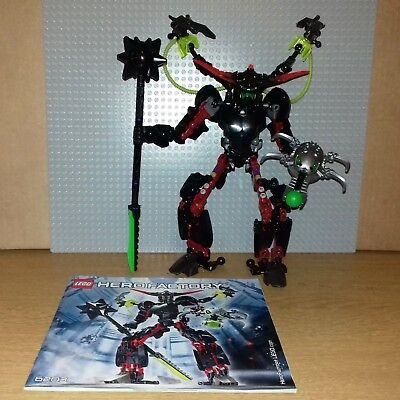 Lego Hero Factory 6203 Black Phantom Great Condition Rare Inc