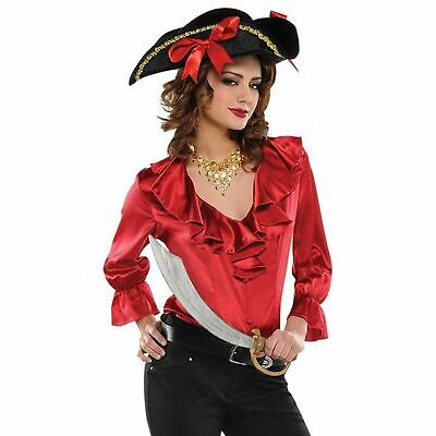 Ladies Pirate Costume Adults Caribbean Wench Fancy Dress Accessory Womens Outfit - Pirate Wench Outfit