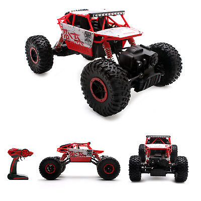 4Wd Rc Rock Crawler Monster Truck Car 2 4G Buggy Crawler Off Road Vehicle Red