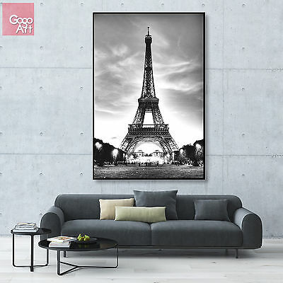 Canvas print wall art big poster home decor modern paris eiffel tower france