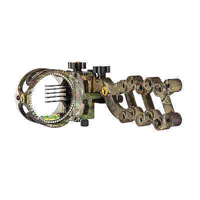 New Trophy Ridge React 5 Pin Bow Sight Camo LH AS815L LEFT HANDED