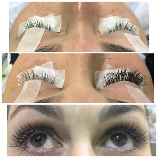 Eyelash Extensions Special /Glamorous full set $50 ( was$120)