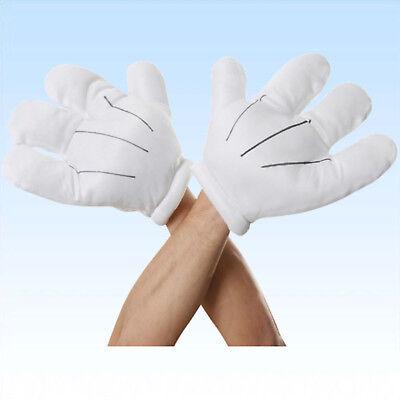 Zeichentrickfigur Bekleidung Comic Fasching Kostüm Handschuh (Cartoon Hände)