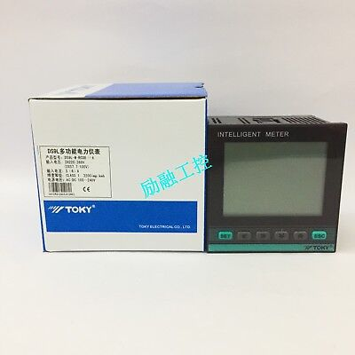 Toky Ds9l-w-rc38 Three-phase Full-function Liquid Crystal Display Power Meter