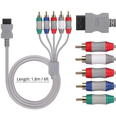 Cable de AV HDTV/EDTV Reemplazo de Componentes de AV Para Nintendo Wii/Wii...