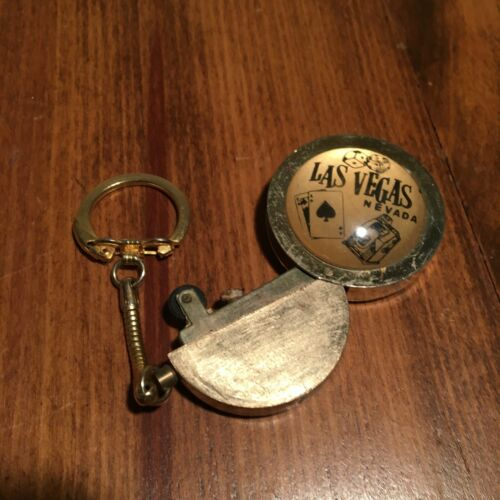 Vintage Las Vegas Key Chain Lighter