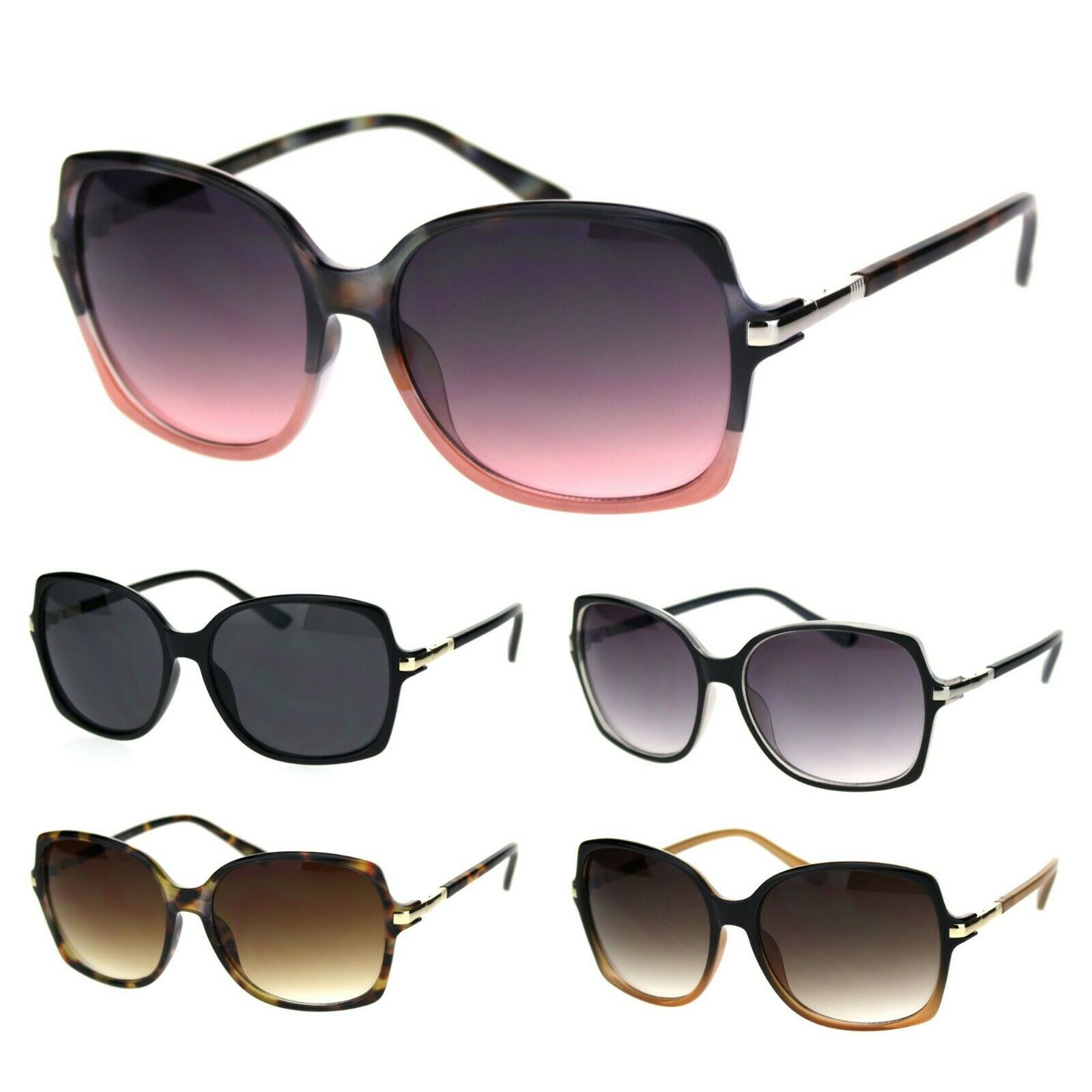 VG Eyewear Elegant Designer Fashion Diva Butterfly Sunglasses